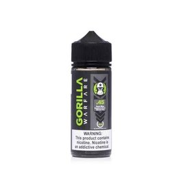 Gorilla Warfare Gorilla Warfare .45 - Sour Blue Raspberry Peach Tea 3mg 120ml