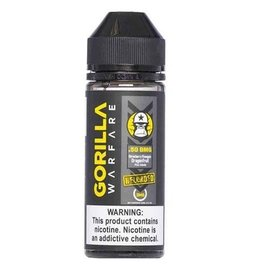 Gorilla Warfare Gorilla Warfare .50 Reloaded - Strawberry Pineapple Dragonfruit Pina 6mg 120ml