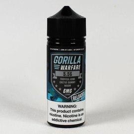 Gorilla Warfare Gorilla Warfare 5.56  Reloaded- Kiwi Tropical Cactus Gummy 6mg 120ml
