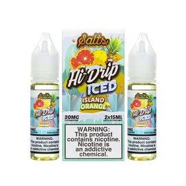 Hi-Drip Box of 2 Hi-Drip Salts Iced Island Orange 20mg 30ml