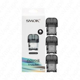 SMOK Box of 3 SMOK Novo 4 Replacement Pod - Black