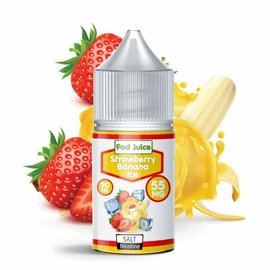Pod Juice Pod Juice Salt - Strawberry Banana Ice 35mg 30ml