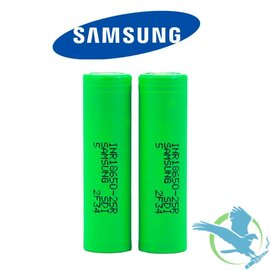 Samsung Samsung 25R 18650 Authentic  - Per Battery