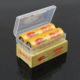 IMREN IMREN 18650 3000mAh 30A/45A - Per Battery (Qty 2 included Case)