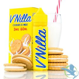 V'Nilla By Tinted Brew Liquid Co. E-Liquid Cookies & Milk / 0 mg -V'Nilla By Tinted Brew Liquid Co.  60ML