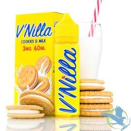 V'Nilla By Tinted Brew Liquid Co. E-Liquid Cookies & Milk / 3 mg - V'Nilla By Tinted Brew Liquid Co.  60ML