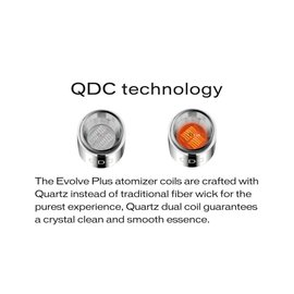 YoCan Yocan Evolve Plus Quartz Dual Coils - per coil