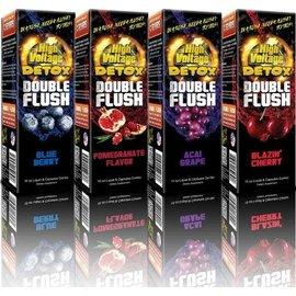 High Voltage High Voltage Detox Double Flush 16oz  - Tropical Orange