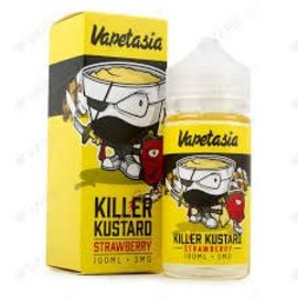 Vapetasia Vapetasia Killer Kustard Strawberry 6MG 100 ML