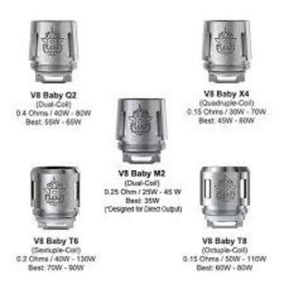 SMOK Smok TFV8 coils V8 Baby X4 core .15Ohm
