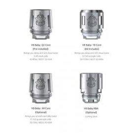 SMOK Smok TFV8 Baby Tank coils V8 Baby Q2 core .6Ohm 20-50W-priced per coil