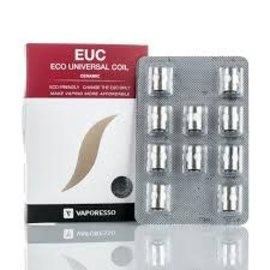 Vaporesso Vaporesso EUC Ceramic SS Coils 5 OHMS 25-35W-priced per coil