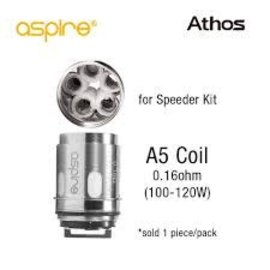 Aspire Aspire Athos replacement atomizer A5 .16ohm-priced per coil