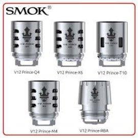 SMOK SMOK TFV12 Prince Tank Replacement Coils X6 50-120W- Priced per coil