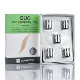 Vaporesso Vaporesso EUC Ceramic SS Coils .4Ohms 40.50w-priced per coil