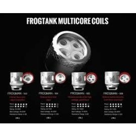 Vaptio Vaptio Frogman W-Series Replacement Coils W8 .15 Ohm 50-110W-priced per coils