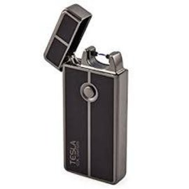 Tesla Tesla AMPS Plasma Arc Lighter 61452 Silver