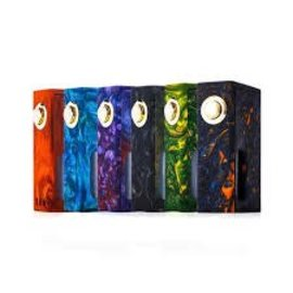 Wotofo Wotofo Stentorian Ram Box Mod Sqounk Unregulated -Green Resin