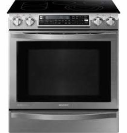 Samsung Samsung Chef Slide-In Convection Electric Range Stainless