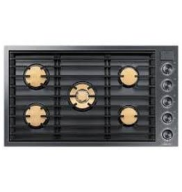 """Samsung Dacor 36"""" Gas Cooktop Black Stainless"""