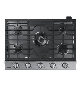 "Samsung Samsung 30"" Gas Cooktop Stainless"