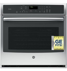 """GE GE Profile 30"""" Convection Wall Oven Stainless"""