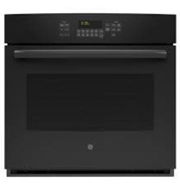 """GE GE 30"""" Convection Wall Oven Black"""