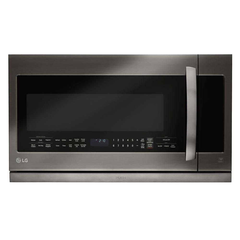 LG LG 2.2 OTR Microwave Black Stainless