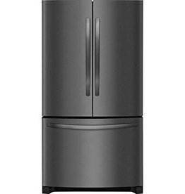 Frigidaire Frigidaire 22.4 Counter Depth French Door Refrigerator Black Stainless