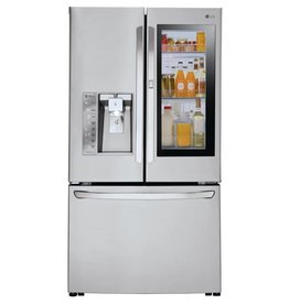LG LG 23.7 Counter Depth French Door Refrigerator Stainless