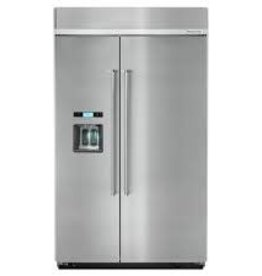 "KitchenAid Kitchenaid 48"" 29.5 Built-In SxS Refrigerator Stainless"