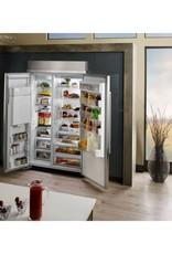 """KitchenAid Kitchenaid 48"""" 29.5 Built-In SxS Refrigerator Stainless"""