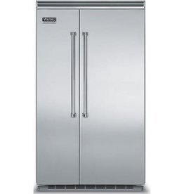 "Viking Viking 48"" 29.1 Built-In SxS Refrigerator Stainless"
