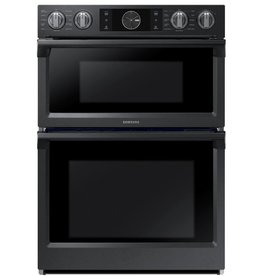 "Samsung Samsung 30"" Convection Microwave Wall Oven Combo Black Stainless"