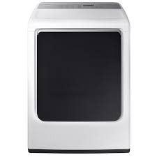Samsung Samsung 7.4 Steam Electric Dryer White