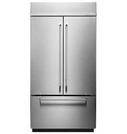"KitchenAid KitchenAid 36"" 20.8 Built-In French Door Refrigerator Stainless"