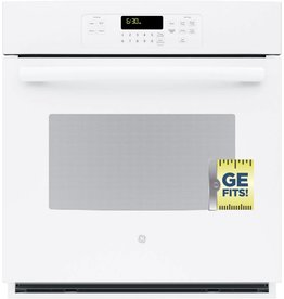 "GE GE 27"" Single Wall Oven White"