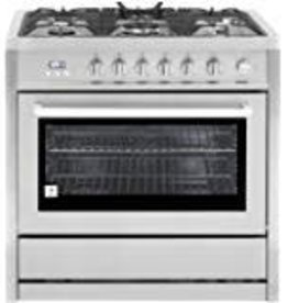 "Viking Viking 30"" Freestanding Convection Dual Fuel Range Stainless"