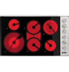"Viking Viking 36"" Electric Cooktop Stainless"