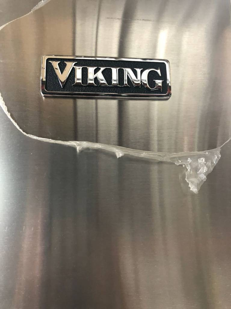 Viking Viking 22.1 Counter Depth French Door Refrigerator Stainless