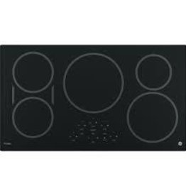 "GE GE Profile 36"" Induction Electric Cooktop Black"