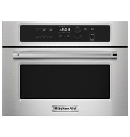 "KitchenAid Kitchenaid 24"" 1.4 Built-In Microwave Stainless"