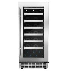 "Danby Danby 15"" 28 Bottle Wine Cooler Stainless"