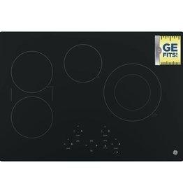 """GE GE 30"""" Electric Cooktop Black"""