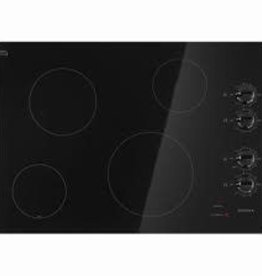 "Amana Amana 30"" Electric Cooktop Black"