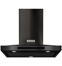 "KitchenAid Kitchenaid 30"" Range Hood Black Stainless"