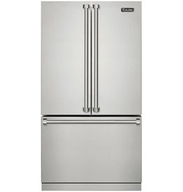 "Viking Viking 36"" Counter Depth French Door Refrigerator Stainless"