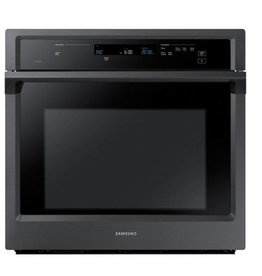 """Samsung Samsung 30"""" Convection Wall Oven Black Stainless"""