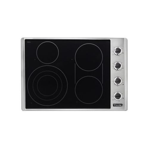 "Viking Viking 30"" Electric Cooktop Stainless"