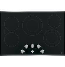 "GE GE Profile 30"" Electric Cooktop Stainless"